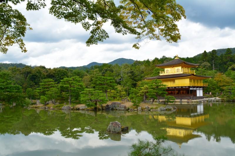 Kinkaku-ji - Le palais d'or