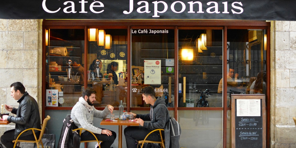 le caf japonais l institution nippone de bordeaux. Black Bedroom Furniture Sets. Home Design Ideas