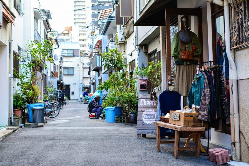 Quartier de Nakazakicho - Osaka