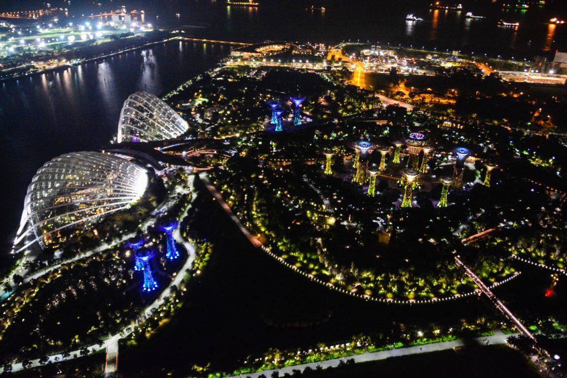 Marina Bay Sands, Singapour